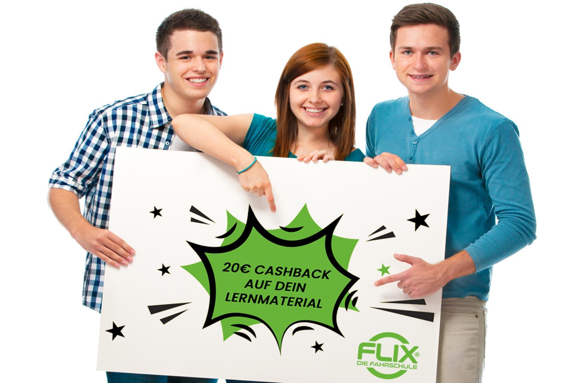 Flix & easy online Voranmeldung abschicken.