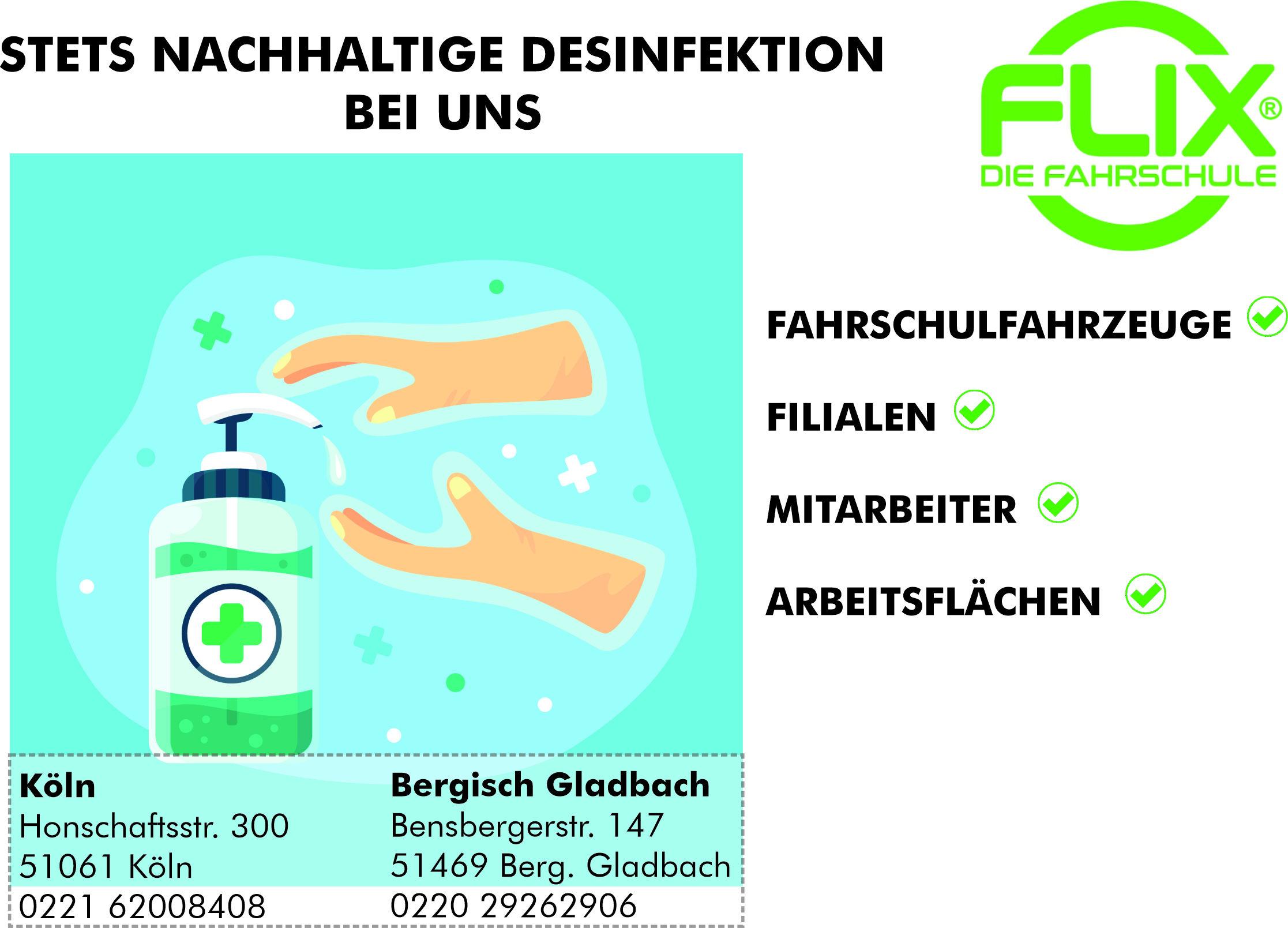 Desinfektionswerbung