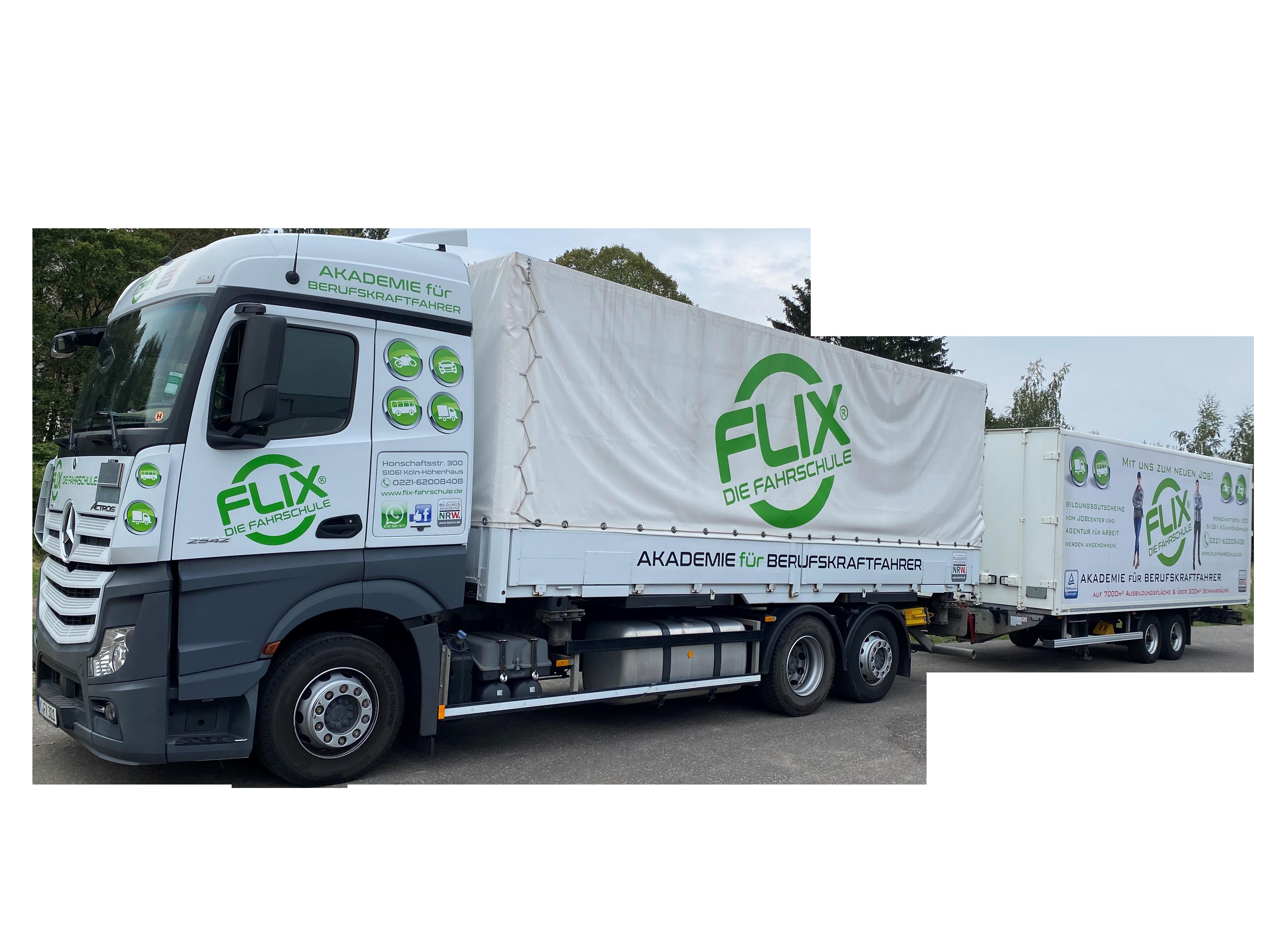 Zertifizierte Übungsfläche für LKW und Busse