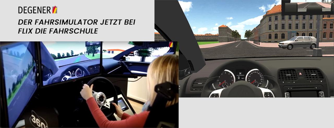 Training für die Fahrerlaubnis mit einem Fahrsimulator? Schaue einfach in eine unserer Fahrschulen in Köln oder Bergisch Gladbach rein und lege mit dem Degener Fahrsimulator los!
